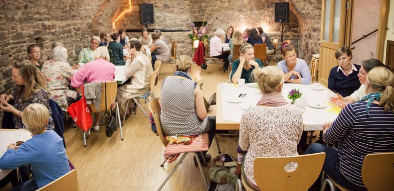 Die Erzählcafé-Aktion am 27.9. 2015 in Bonn