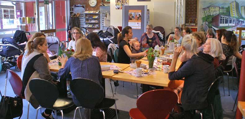 Das Erzählcafé am 9. September 2015 Hamburg statt