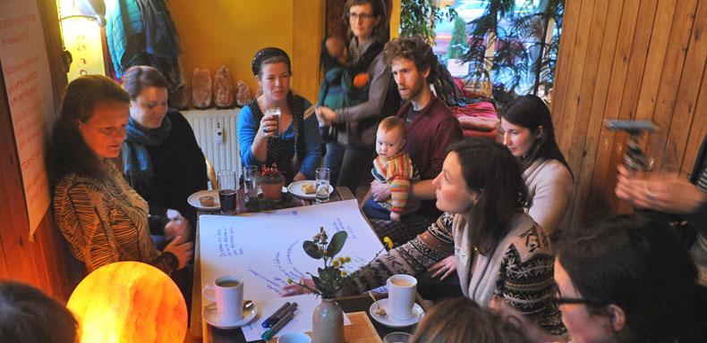 Die Erzählcafé-Aktion am 22. November 2015 in Hannover