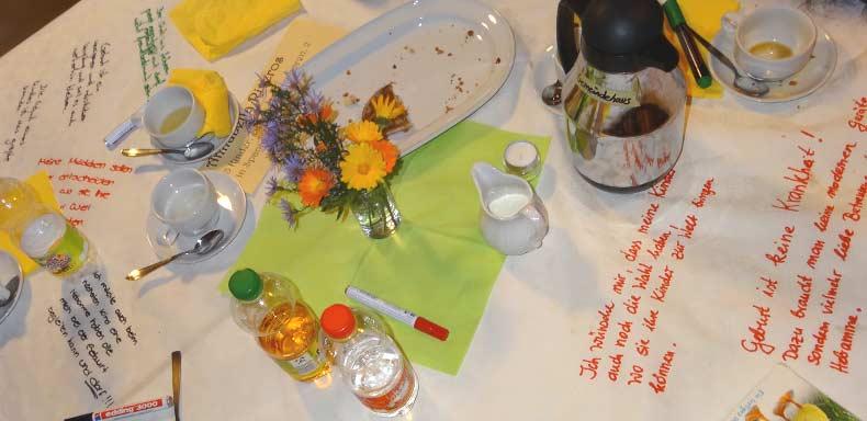 Das Erzählcafé am 13. Oktober 2015 in Nördlingen statt