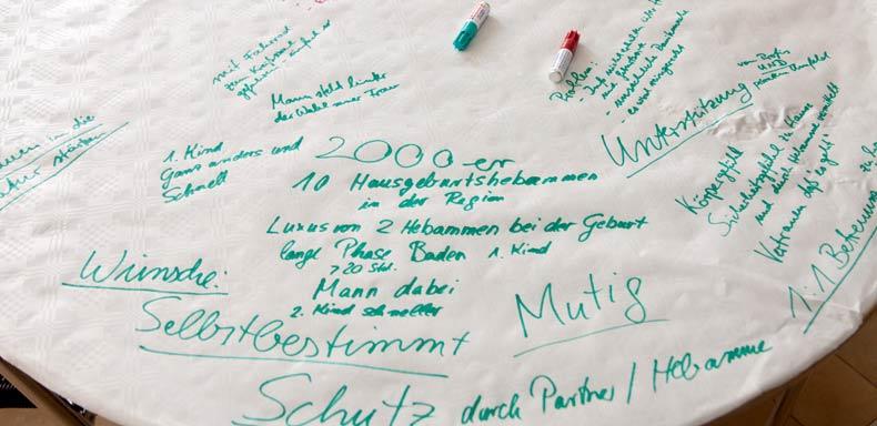 Die Erzählcafé-Aktion am 10. Mai 2015 in Osnabrück