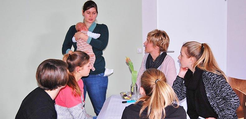 Das 1. Schüler_innen- Erzählcafé am 28. Januar 2016 in Potsdam