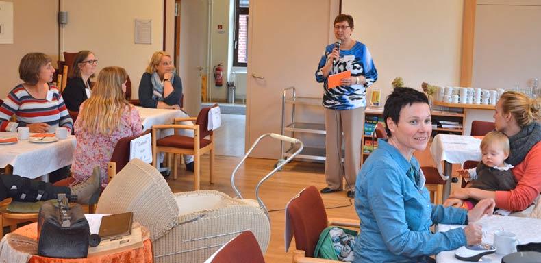 Die Erzählcafé-Aktion am 8. Oktober 2015 in Rendsburg