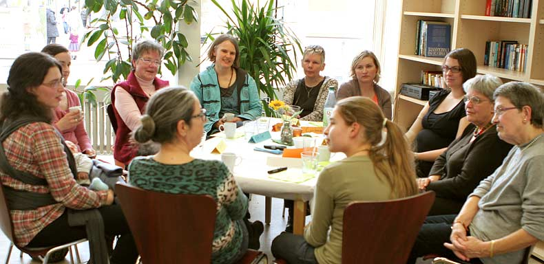 Die Erzählcafé-Aktion am Internationalen Frauentag 2015 in Siegburg