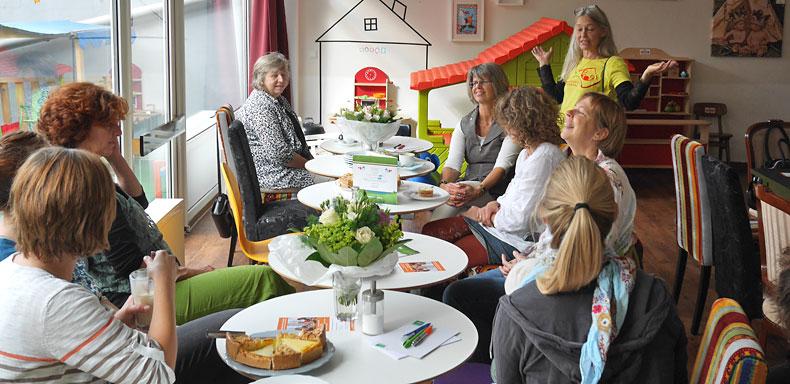 Das Erzählcafé am 26. September 2015 im Geburtshaus Wuppertal
