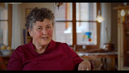 Film: Gebären lernen: Isolde Adamek; © Frauenmuseum Hittisau, 2020