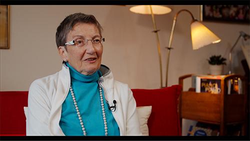 Film: Gebären in den 70 und 80er Jahren: Angela Schiemer © Frauenmuseum Hittisau, 2020