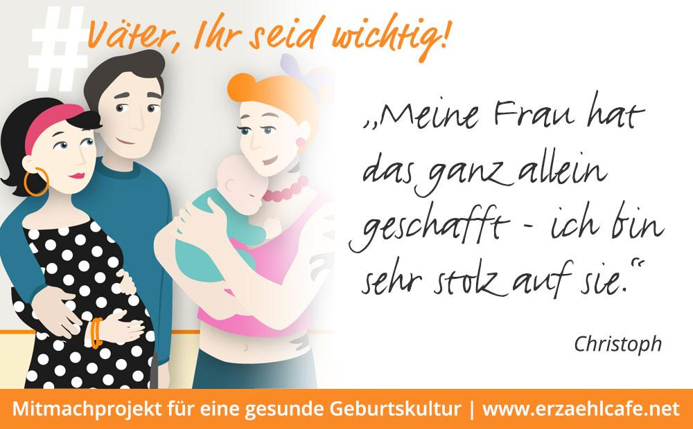 # Väter, Ihr seid wichtig! - Aktion zum 5. Mai 2019