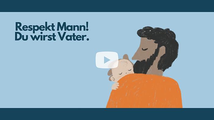 """Film zur Broschüre """"Respekt Mann - du wirst Vater"""""""