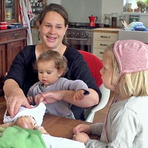 Wie Geburt Familien stark macht